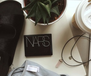 nars, coffee, and plants image