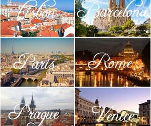 paris, venice, and Barcelona image