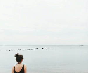 beach, hipster, and nature image