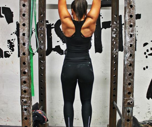 abs, fitness, and booty image