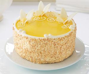 cake, coconut, and cream image