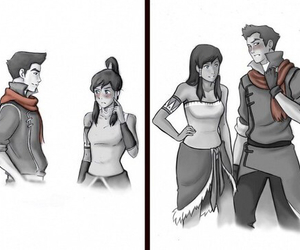 avatar and makorra image