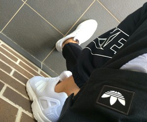 adidas, nike, and tumblr image
