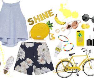 fashion, outfit, and pineapple image