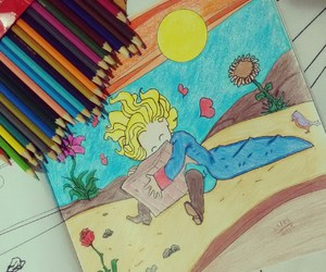 colors, le petit prince, and prince image