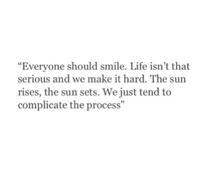 quotes, life, and smile image