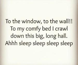 funny and sleep image