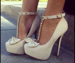 beautiful, foot, and high heels image