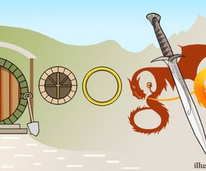 google, LOTR, and tolkien image