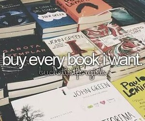 books, Dream, and wish image