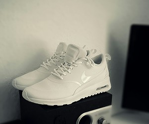 new, nike, and shoes image
