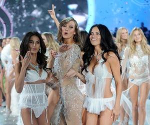 Victoria's Secret, Adriana Lima, and Karlie Kloss image