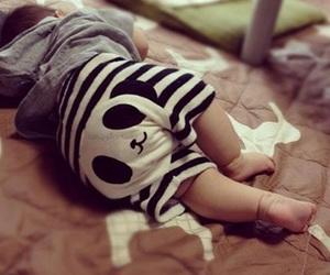 baby, cute, and panda image