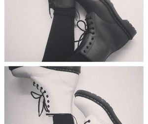 shoes, boots, and white image