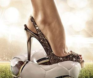 ball, football, and shoes image