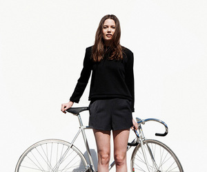 bike and model image