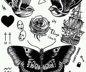 tattoo, Harry Styles, and one direction image