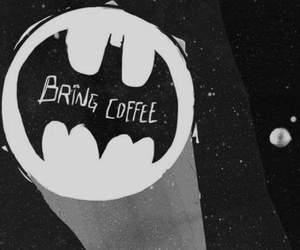 batman, coffee, and funny image