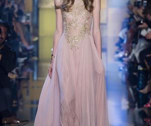 dress, elie saab, and pink image