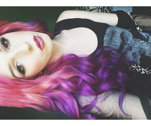alt girl, alternative, and pastel goth image