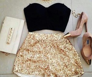 clothes, glamorous, and outfits image