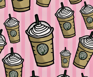 background, Kaffee, and pink image