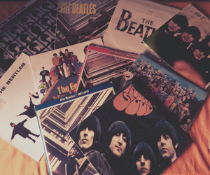beatles, music, and old image