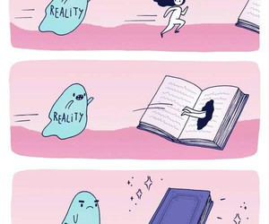 book and reality image