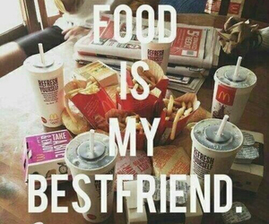 food, bestfriend, and best friends image