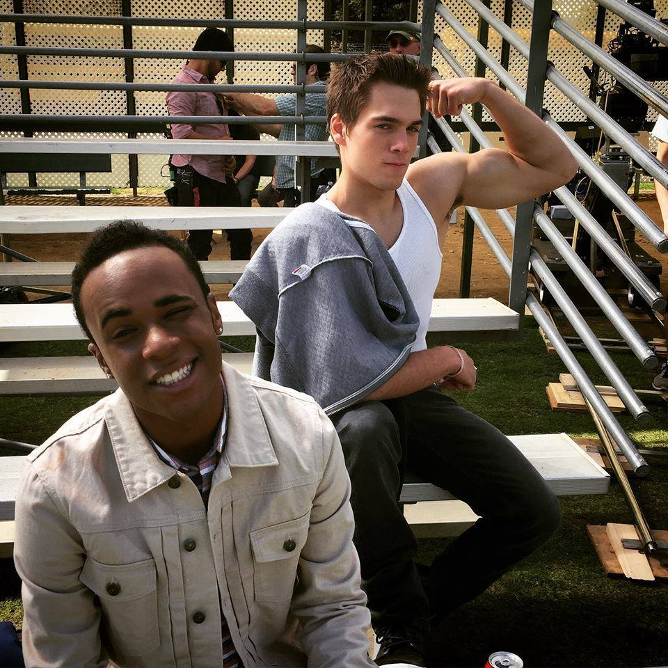 bromance, dylan sprayberry, and teen wolf image