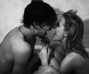 bath, black and white, and goals image