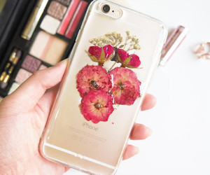 flowers, phone case, and gift image