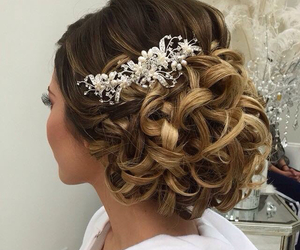 beauty, curles, and fashion image