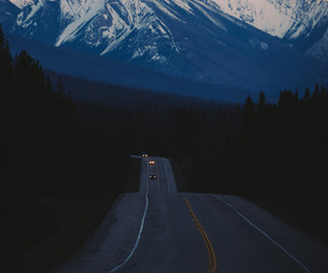 road, mountains, and landscape image