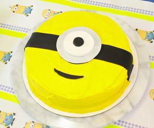 cake, food, and minions <3 image