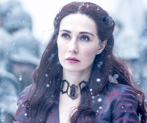 game of thrones, melisandre, and red image