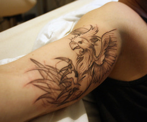 chocobo, final fantasy, and tattoo image