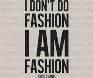 coco chanel, fashion, and quote image
