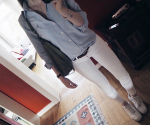 airforce, blouse, and nike image