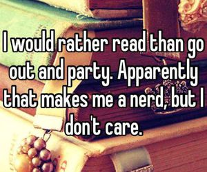 books, party, and quotes image