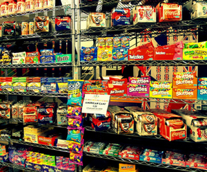 candy, american candy, and an ile of candy image