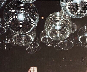 disco, party, and vintage image