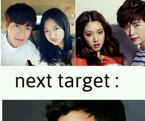 park shin hye, kim soo hyun, and lee jong suk image
