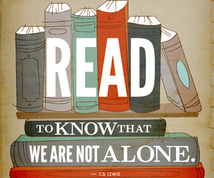 book, read, and alone image