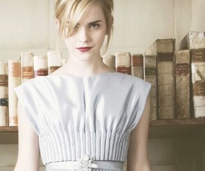 emma watson, harry potter, and book image