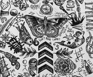Tattoos, wallpapers, and one direction image