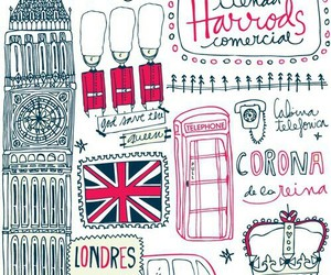 draw, london, and wallpapers image