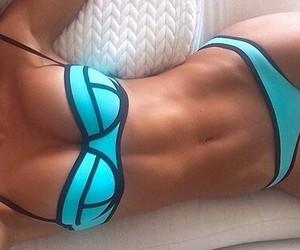 bikini, girls, and style image