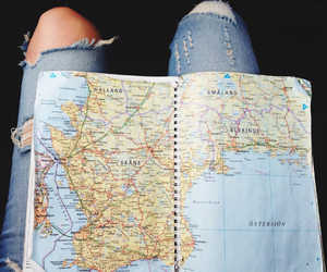 adventure, jeans, and world image