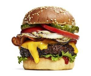 food, hamburger, and sweet image